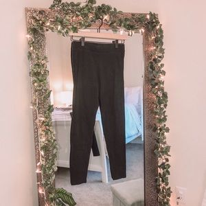 Victoria's Secret PINK Black Fleece Leggings